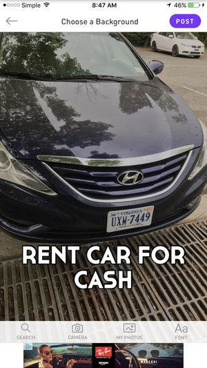 RENT CAR FOR CASH for Sale in Fort Belvoir, VA