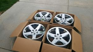 "Like new 20"" Dodge Ram 1500 chrome wheels rims 5-lug 5x5.5 5x139.7 OEM factory stock set no tires for Sale in Commerce City, CO"