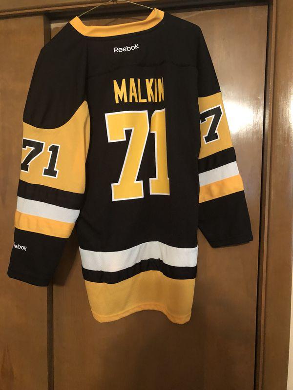 Reebok Official Licensed Malkin Jersey