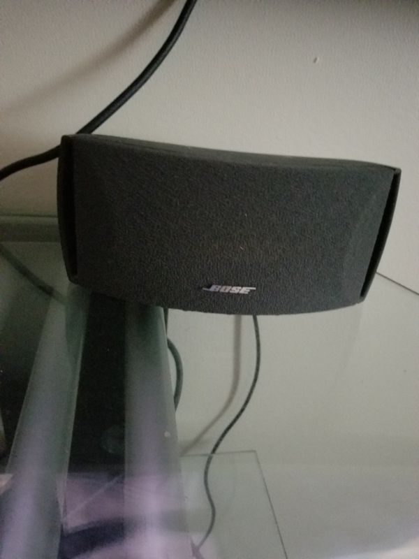 Bose serie ll 8 speaker and subwoofer touch control remote