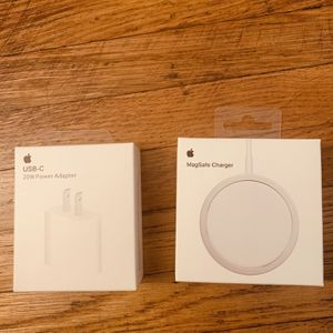 MagSafe Charger And 20w Power Adapter for Sale in San Leandro, CA