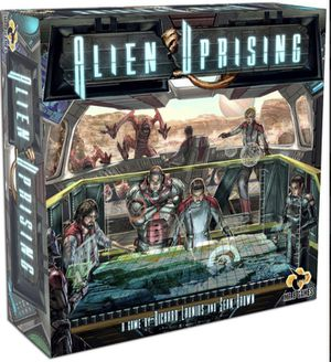 Alien Uprising board game (includes Zothren expansion) for Sale in Seattle, WA