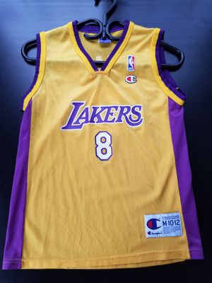 Vintage Authentic Champion Kobe Bryant 8 Jersey Kids M Womens Small S for Sale in Los Angeles, CA