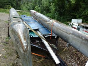 Pontoon boat 20ft for Sale in McConnelsville, OH