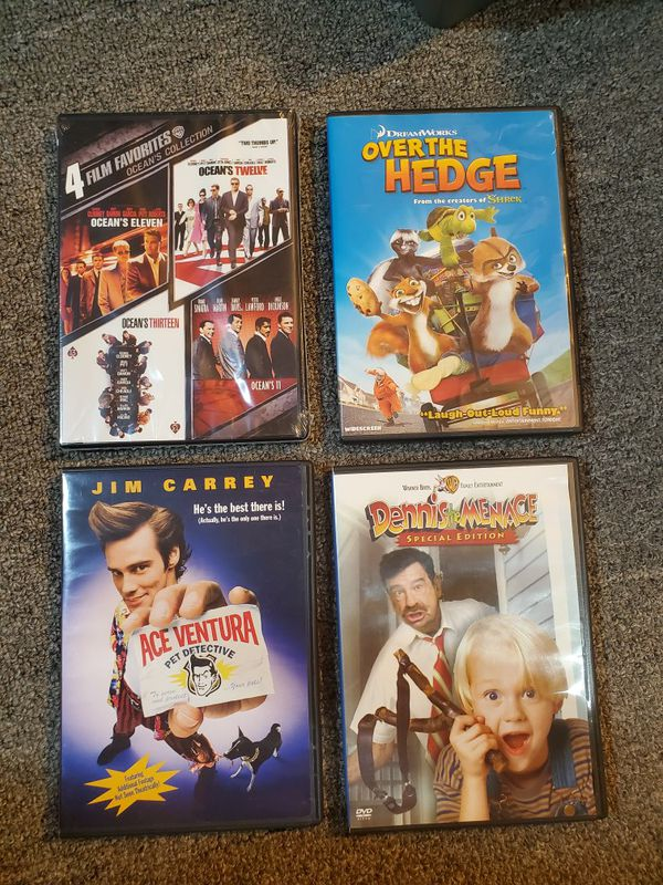 DVDs $5 for all 4 combined