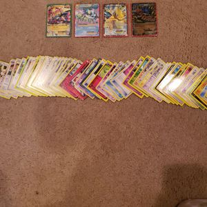 Mixed pokemon cards for Sale in Lake Forest, IL