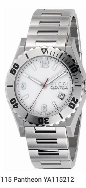 Gucci automatic watch men 115 Pantheon YA115212 for Sale in San Diego, CA