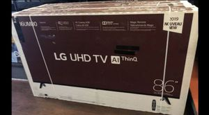 "86"" LG UHD SMART 4K TV for Sale in Riverside, CA"