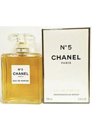 SALE New CHANEL NO.5 Perfume NO.5 Perfume 3.4 oz ($135 retail price) for Sale in Los Angeles, CA