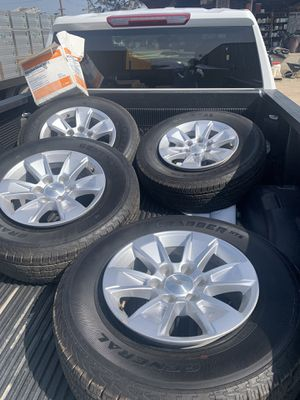 New tires Chevy 1500 for Sale in Rancho Cucamonga, CA
