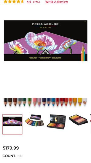 Prismacolor color pencil set of 150 (art supplies) for Sale in Chicago, IL