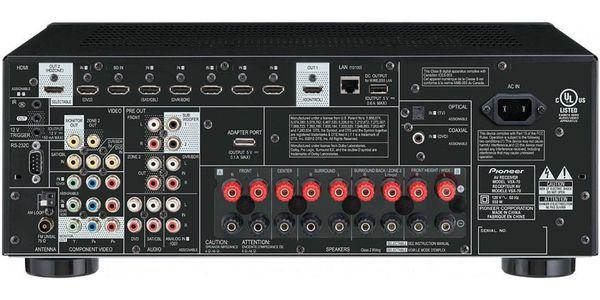 Pioneer Elite VSX-70, 7.2 network receiver, 4k UltraHD, HDMI (8/2), 2 zones, AirPlay, Bluetooth
