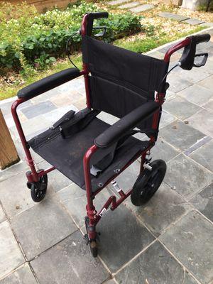 Folding wheelchair for Sale in Woodbridge, VA