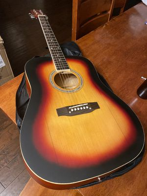 Full Size Acoustic Guitar with Extra Strings $100 Firm for Sale in Arlington, TX