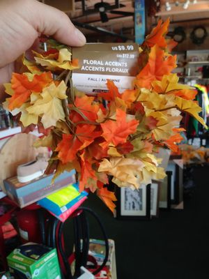 Fall flowered garland for Sale in North Attleborough, MA