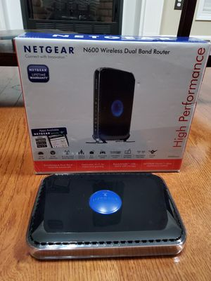 Netgear N600 Dual Band Router for Sale in Effingham, SC