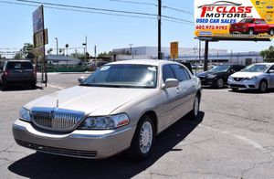2010 Lincoln Town Car for Sale in Phoenix, AZ