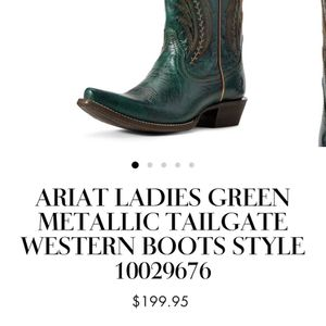 Ariat Women's Boots Size 8 for Sale in Atwater, CA