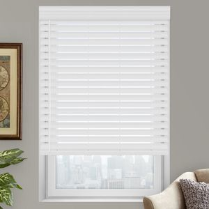 "NEW 2"" PREMIUM FAUX WOOD BLINDS - BRIGHT WHITE for Sale in Escondido, CA"