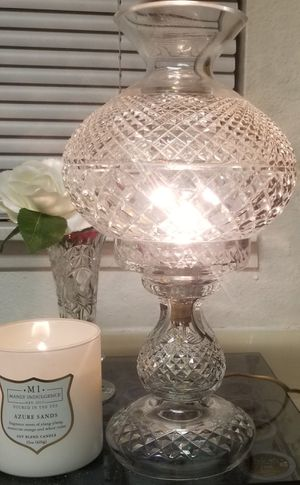 Waterford Inishmaan Crystal Lamp. BEAUTIFUL! for Sale in Seattle, WA