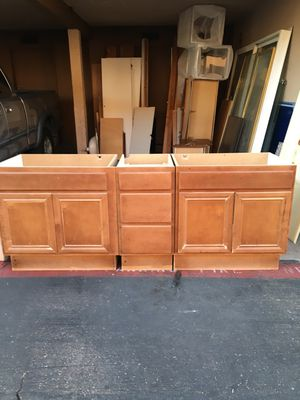 Solid wood kitchen or bathroom cabinets for Sale in El Cajon, CA