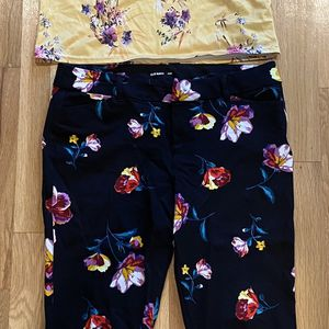 Women's Ankle Pants And Shirt Size 10 for Sale in Sammamish, WA