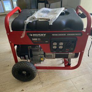 Like New Husky Generator for Sale in Rockville, MD