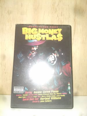 Insane clown posse big money hustlas dvd for Sale in Central Falls, RI