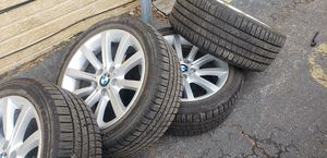Bmw Wheels Tires Michelin 5x120 245 45 18 for Sale in River Grove, IL