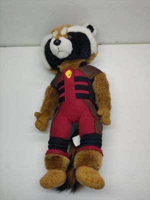 Guardians Of The Galaxy Marvel Avengers SDCC Disney ROCKET RACCOON Promo PLUSH for Sale in Santa Ana, CA