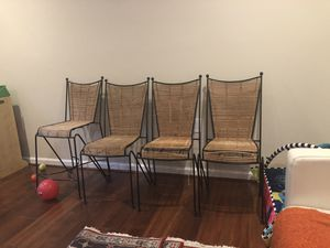 4 chairs for free for Sale in Falls Church, VA