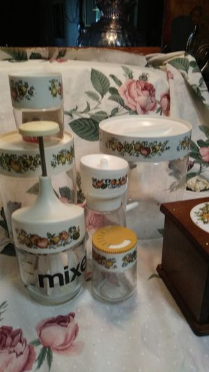 Very cute Pyrex decor set for Sale in Bakersfield, CA