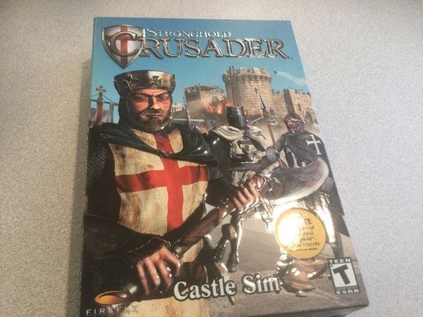 CD ROM Computer Game Crusader