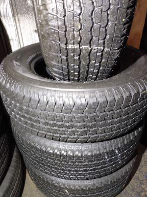 Set of Bridgestone P265/65R17 for Sale in Whittier, CA