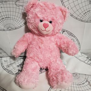 Build a Bear Pink Teddy (Can Ship) for Sale in Sunset Beach, NC