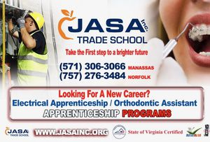 JASA,Inc Trade School Sign up today for Classes for Sale in Manassas, VA