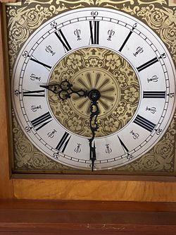 *** Antique Grandfather Clock - Cherry Wood Case for Sale in Orange, CA