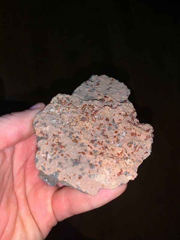 Vanadinite cluster