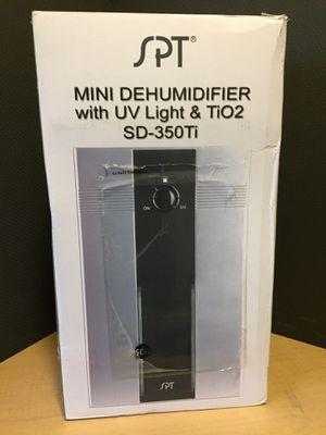 Mini Dehumidifier with UV Light for Sale in El Paso, TX