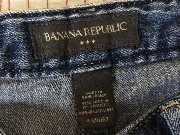Women's Banana Republic Jeans size 6Short