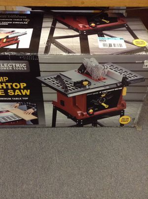 """CHICAGO ELECTRIC 10"""" 13 AMP BENCHTOP TABLE SAW for Sale in Denver, CO"""