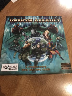 Venom assault modern board game for Sale in Chino Hills, CA