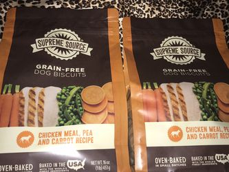 2🔥bags Of 16 Oz Grain Free Dog Biscuits $5 For Both Firm On Price for Sale in Glendale,  AZ