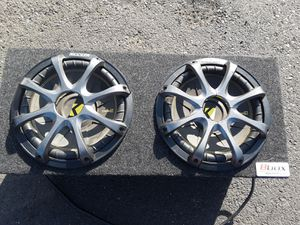 2 12s subs kickers for Sale in Chico, CA