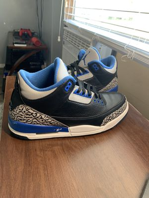 Air Jordan 3 Sport Blue for Sale in Austin, TX