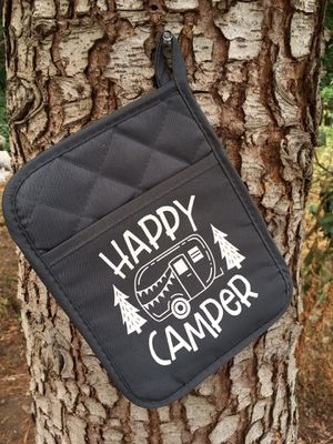 Customized Happy camper oven mitt for Sale in Kent, WA