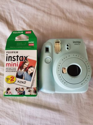 Instax camera with film for Sale in West Covina, CA