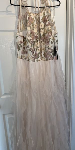 Beige/Pink Party Dress for Sale in San Antonio, TX