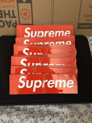Supreme stickers $2 each for Sale in Los Angeles, CA
