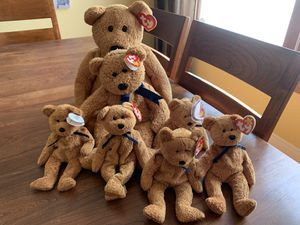 Fuzz Beanie Baby Family for Sale in Seattle, WA